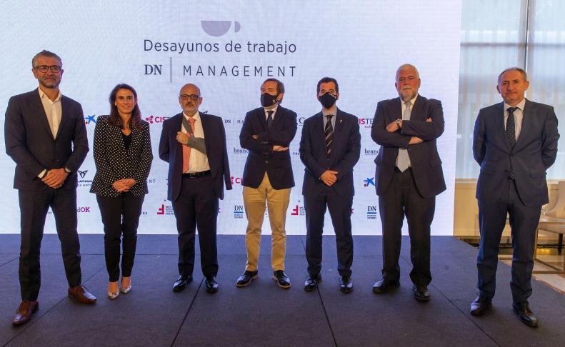 Imágenes del Desayuno DN Management con Manuel Pérez-Sala, presidente del Círculo de Empresarios.