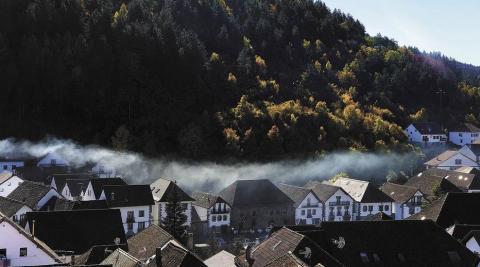Ochagavía se presenta como uno de los pueblos típicos del Pirineo de Navarra.