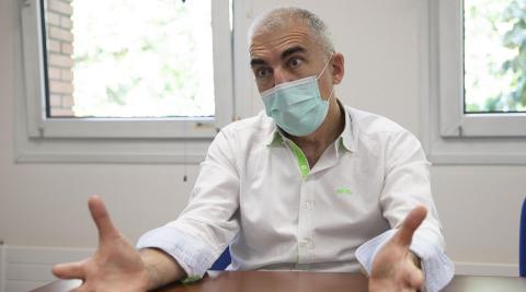José Antonio García Erce dirige el Banco de Sangre y Tejidos de Navarra