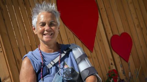 Carmela Bermejo Ros es donante de sangre desde hace diez años