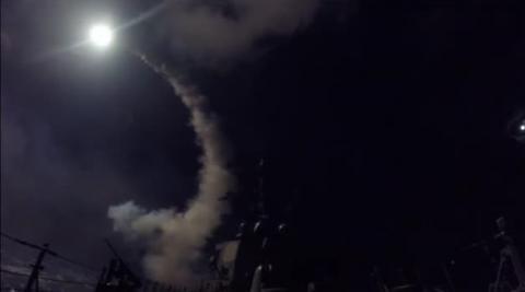 Trump cumple su amenaza y bombardea Siria
