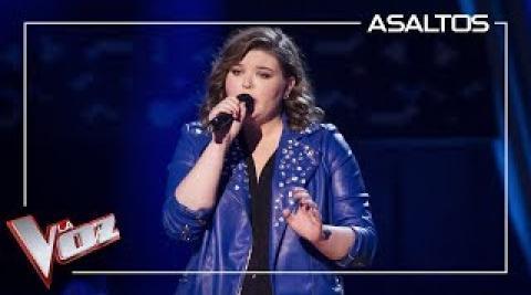 Hannah Labotka canta 'When we were young'   La Voz
