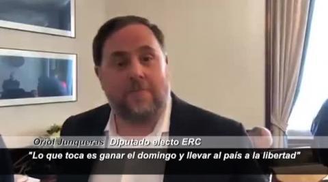 Los políticos presos por el 'procés' recogen en las Cortes sus actas de diputados y senadores