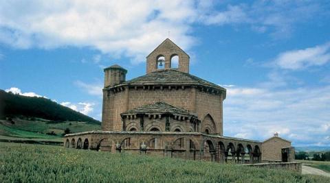 La iglesia de Santa María de Eunate