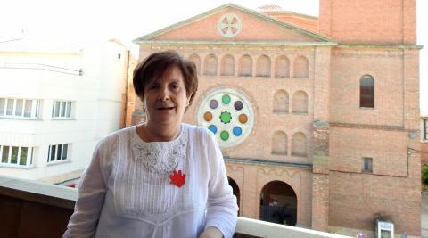 Conchi Santos Alcalde, presidenta de la asociación de mujeres