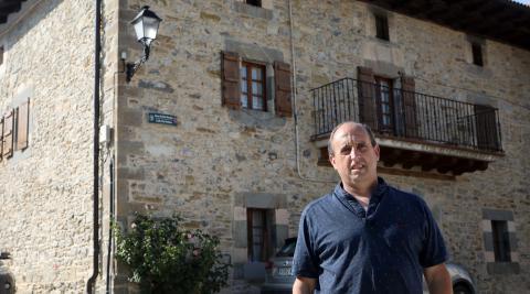 Enrique Garralda Erro es alcalde del Ayuntamiento de Erro desde el año 2003