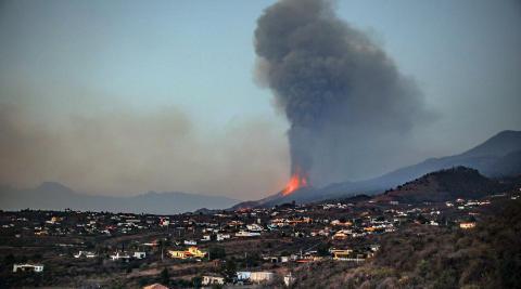 Fotos de la erupción del volcán de La Palma
