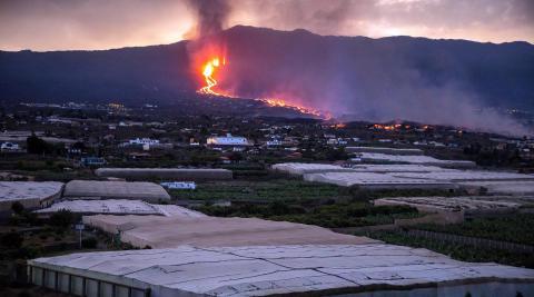 Fotos de la erupción del volcán de Cumbre Vieja de La Palma