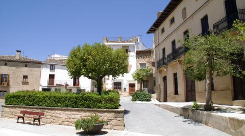 Casco urbano de Urbiola.