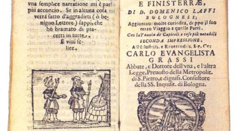 Viaggio in Ponente a San Giacomo di Galitia e Finisterre per Francia e Spagna de Domenico Laffi