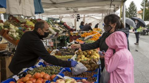 Las frutas y verduras navarras fueron los productos más vendidos