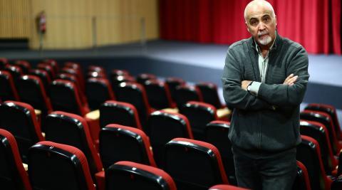 Ramón Herrera en la Filmoteca, donde presentará hoy Y yo entonces me llevé un tapón