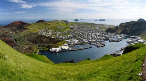 Heymaey, en las islas Vestmann (Islandia)