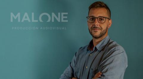 Felipe Marín, dueño de Malone Producción Audiovisual