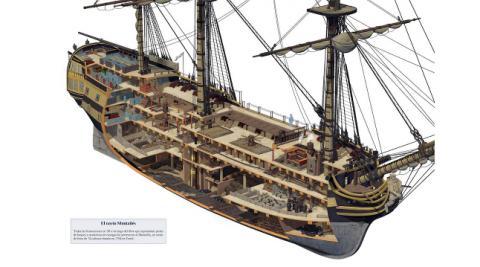 Infografía del navío Montañés