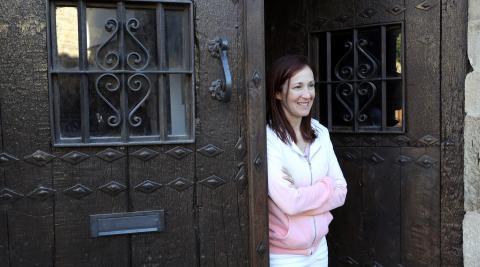 Mónica Timoneda sintió el terremoto en casa de su suegra, Ana Mª Sancho.