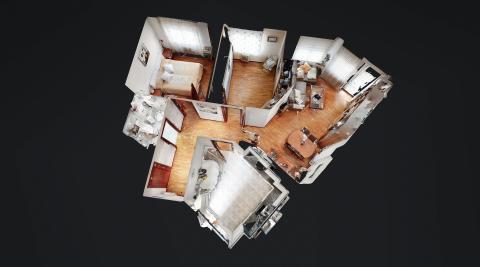 Un piso luminoso junto al Parque de los Enamorados