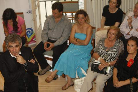 Escritores que pasaron por el Club de Lectura de Diario de Navarra en 2009