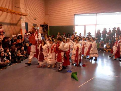 Imágenes de carnaval en el Colegio Elorri de Mendillorri (Pamplona)