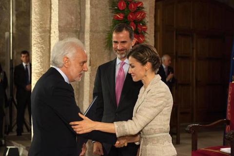 Entrega del Premio Príncipe de Viana 2015.