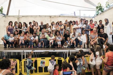 Imágenes de las fiestas de Lakuntza del 27 de agosto de 2016.