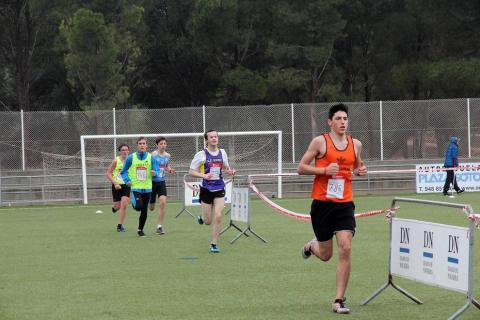 El circuito de Santa Quiteria en Tudela acogió este domingo el campeonato navarro de cross.