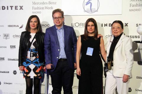 Álvaro Castejón (Alvarno) y Jesús Lorenzo (Groenlandia) presentaron sus colecciones este lunes en la pasarela madrileña