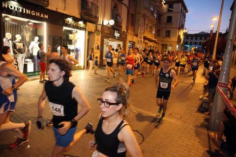Boulame y Malón Se coronaron como los mejores de Navarra en los 10 km de Tudela.