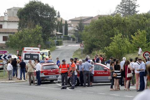 Un incendio se ha registrado este jueves en Esparza de Galar. Un segundo foco ha afectado a Arazuri y un tercero a Artajona.