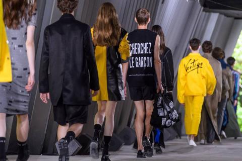 Colección moda masculina 2018 para la temporada primavera/verano