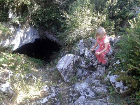 Imágenes de la ruta desde el pueblo más alto de Navarra, Avaurrea Alta.