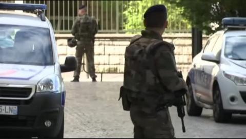 Heridos seis militares tras ser arrollados por un vehículo cerca de París