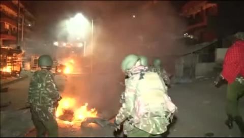 La reelección de Kenyatta causa graves disturbios en Nairobi