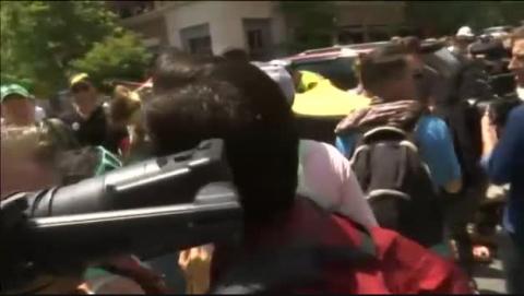 Un coche arrolla a un grupo de personas en Virginia tras una marcha supremacista