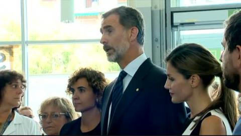 """Felipe VI: """"Este atentado vil y cobarde no podrá con nosotros ni con nuestros valores"""""""