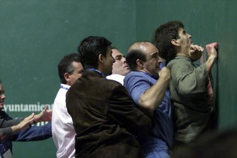 Imágenes de la celebración del Mundial de Pelota celebrado en Navarra en 2002.