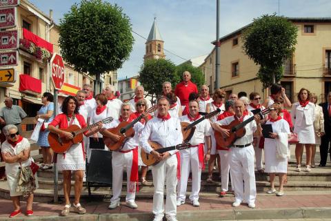 Día grande de fiestas de Milagro con la procesión en honor a San Blas