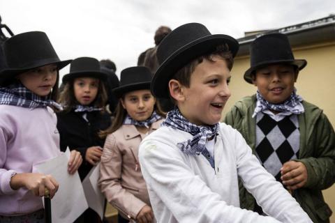 Comienzan las fiestas de San Fermín Txikito