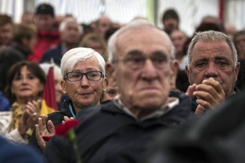 Acto en la localidad francesa a los presos navarros de la II Guerra Mundial.