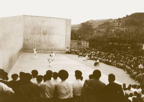 El campeonato de parejas 2018 comenzará en el histórico frontón de Bera, por la conmemoración de sus 75 años