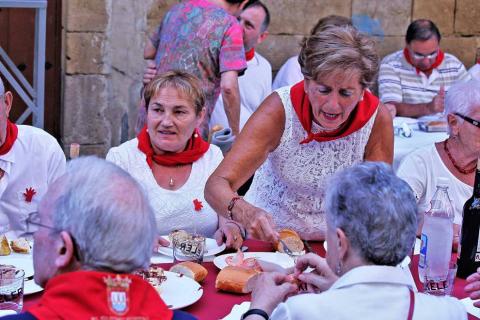 Todas las fotos del Día de las personas mayores de las fiestas de Puente la Reina 2018