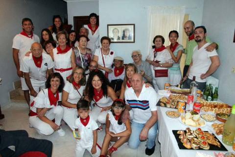 Misa y comida por el Día de los Mayores en las fiestas de Fustiñana
