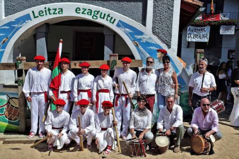 El día grande de las fiestas de Leitza