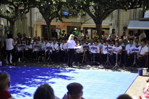 Quinto encierro de Tafalla y sexto día de fiestas (19 de agosto de 2018)