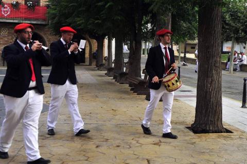 Imágenes del día del patrón de las fiestas de Marcilla 2018, 24 de agosto