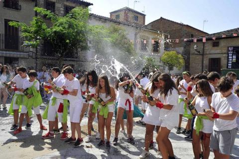 Fotos del inicio de las fiestas de Pitillas.