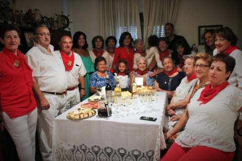 Milagro homenajeó este jueves, 6 de septiembre, a sus mayores