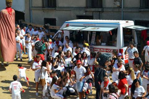 Cárcar comenzó este sábado sus fiestas patronales, que tocarán a su fin el próximo domingo, 16 de septiembre.