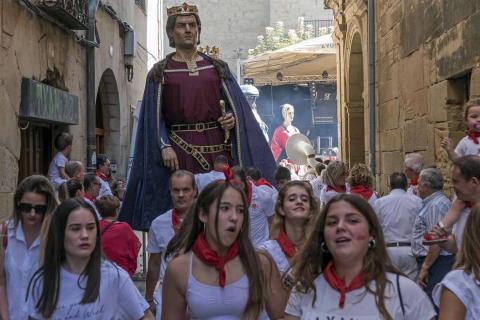 Viana celebró este sábado, 8 de septiembre, el primer día de sus fiestas patronales, que se prolongarán hasta el miércoles 12.