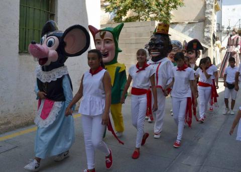 La localidad de Tierra Estella celebró este sábado, 8 de septiembre, su segundo día de fiestas